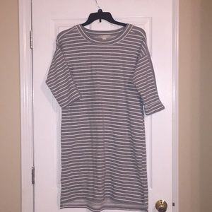 Life Worx Gloria Vanderbilt Stripe Dress